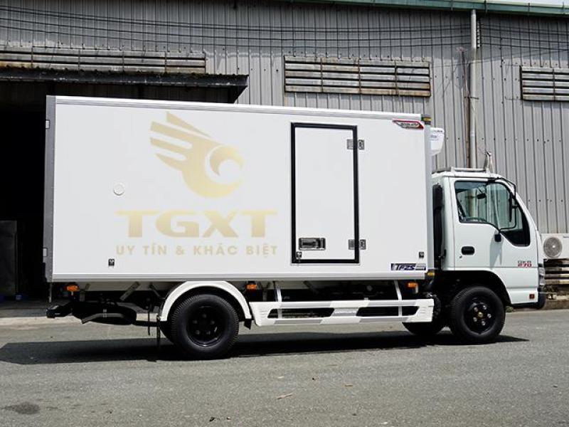 Bán xe tải Isuzu 1T9 đông lạnh