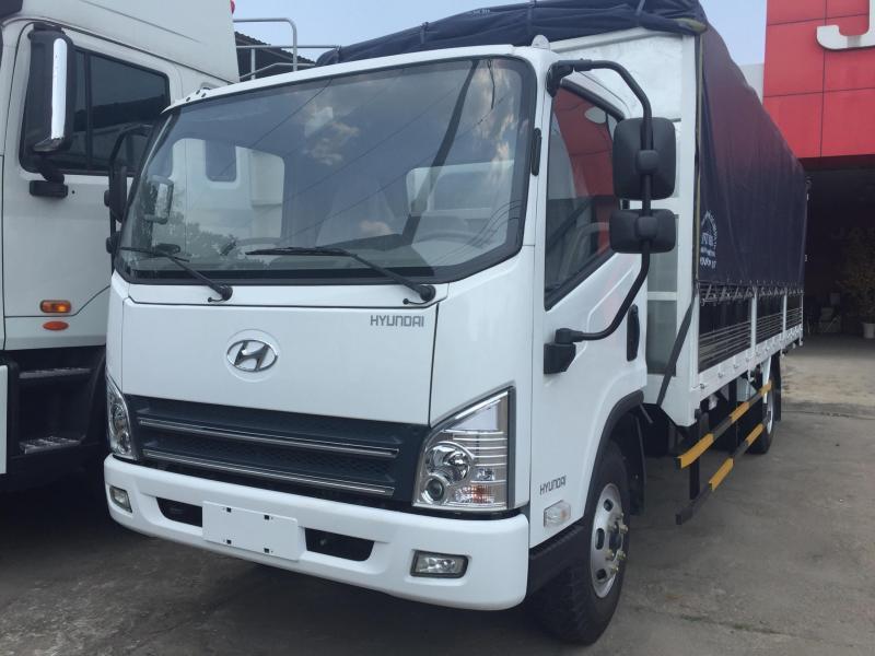 Bán xe tải hyundai 7T3 thùng dài 6m2, hỗ trợ vay 80%