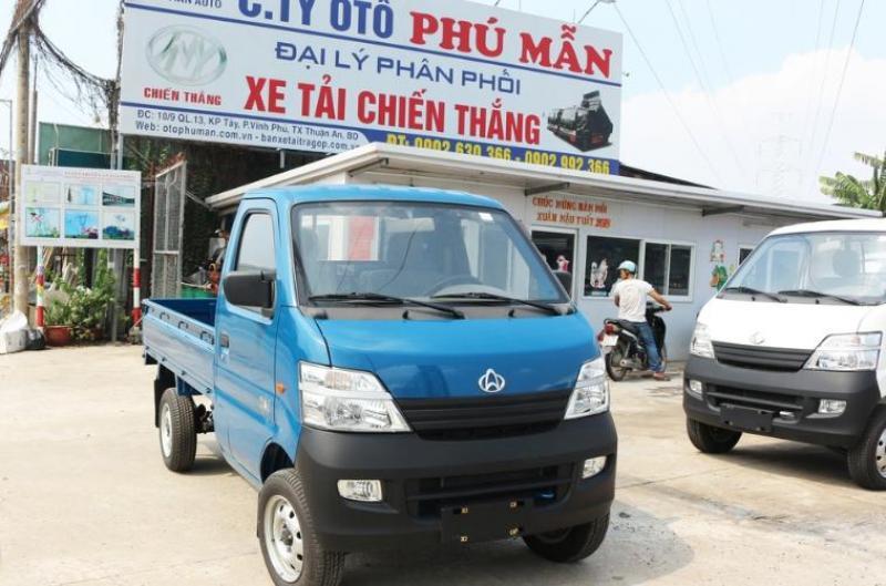 Xe tải Veam Star 850kg thùng lửng giá hợp lý