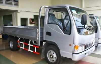 Bán xe tải jac 2t4 thùng lửng trả trước 50 triệu