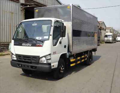 Bán xe tải isuzu 1t9 thùng kín - hỗ trợ trả góp 90%.