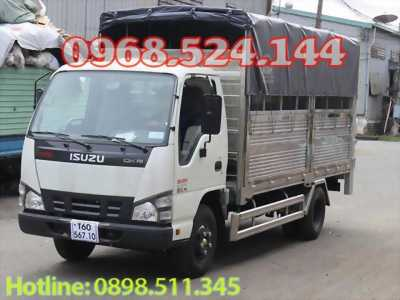 Xe tải isuzu 1t9 thùng bạt bửng nâng, giá tốt nhất thị trường