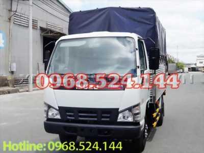 Xe tải isuzu thùng bạt 1t99 2t40 giá niêm yết , trả góp bây giờ quá đơn giản
