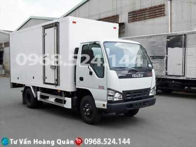Xe tải isuzu QKR270 chính hãng, thùng kín composite giá tốt cho mọi nhà.