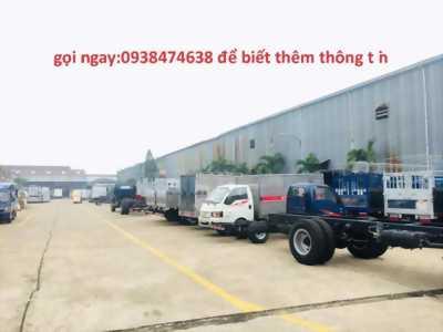 xe tải JAC 1t25 thùng kín máy dầu
