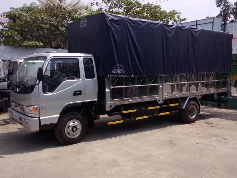 Xe tải JAC 4.9 tấn .