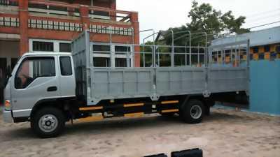xe tải jac 6 tấn thùng dài 6m3.