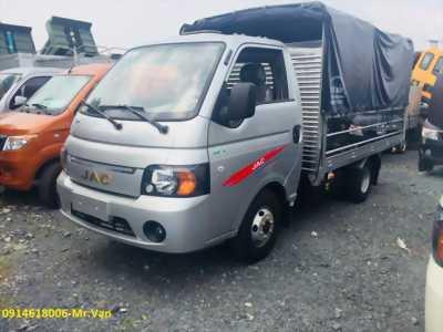 Xe tải JAC 1T25 thùng 3m2,euro4, máy ISUZU, đưa 50tr nhận xe