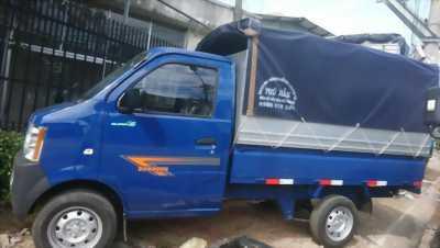 Xe tải nhỏ chạy thành phố, Dongben thùng bạt 810kg