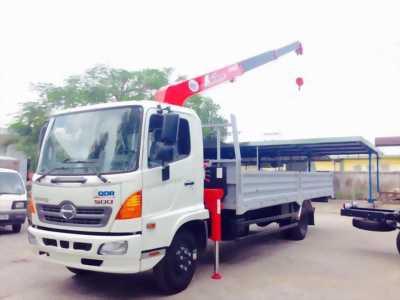 Bán chiếc Hino FG - tải lắp cẩu TADANO 3 tấn 4 đốt