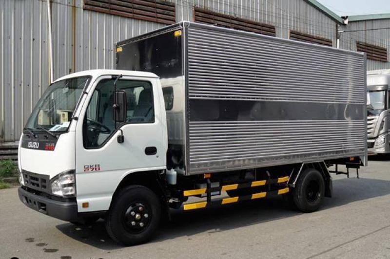 xe tải isuzu QKR77H 1t9 thùng kín inox