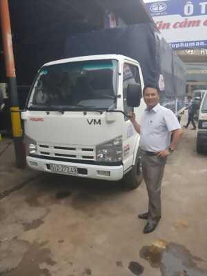 Bán xe tải Isuzu 1t9 thùng siêu dài 6m2 tại Cà Mau
