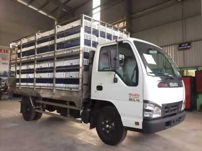 Xe tải ISUZU 2T2 chở gia cầm inox 304 2017