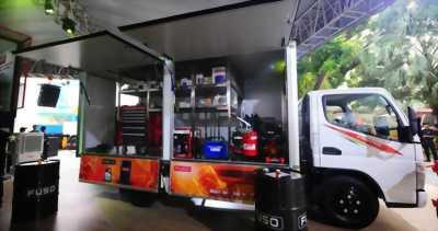 Xe tải bán hàng lưu động 5 tấn