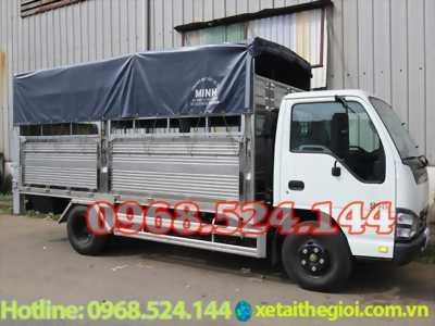 Đại lý xe tải isuzu 1T9 thùng bạt bửng nâng | xe tải isuzu bửng nâng | xe tải isuzu 2t4 , nhiểu khuyến mãi