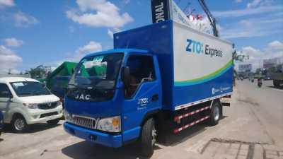 Bán xe tải JAC 2T4, thùng dài 4m3, máy ISUZU, giá cực tốt.