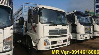 Đại lý bán xe tải DONGFENG B180 thùng dài 9m5