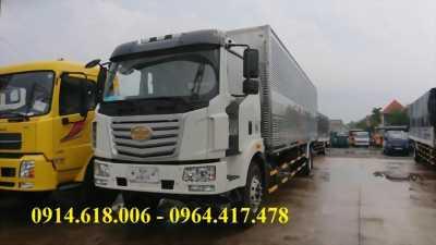 Đại lý bán xe tải FAW 7T2 thùng dài 9m7, khu vực miền nam