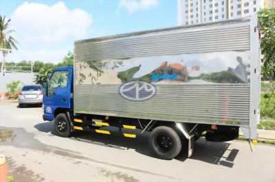Bán xe tải ISUZU 1T9 thùng dài 6m4, giá cực tốt