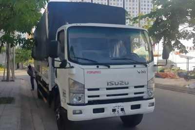 Đại lý bán ISUZU 8.2 ttấn -FN129 thùng dài 7m, hỗ trợ vay cao