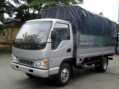 Xe tải jac 2T4 2t45 2t5 giá rẻ vay lãi suất thấp nhất