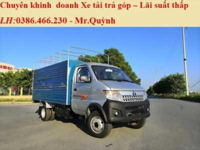 Bán Xe Tải Dongben 1.25 tấn Thùng Bạt