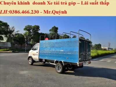 Bán Xe tải Dongben 1.9 Tấn Thùng Lững, Thùng Bạt Và Thùng Kín