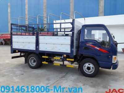 Xe tải JAC 2T4 thùng 4m3, máy ISUZU chính hãng, giá cạnh tranh