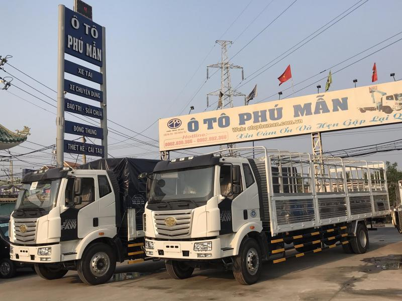 Xe tải Faw thùng dài - Xe tải thùng siêu dài - Xe Faw thùng dài 10m tải 7 tấn