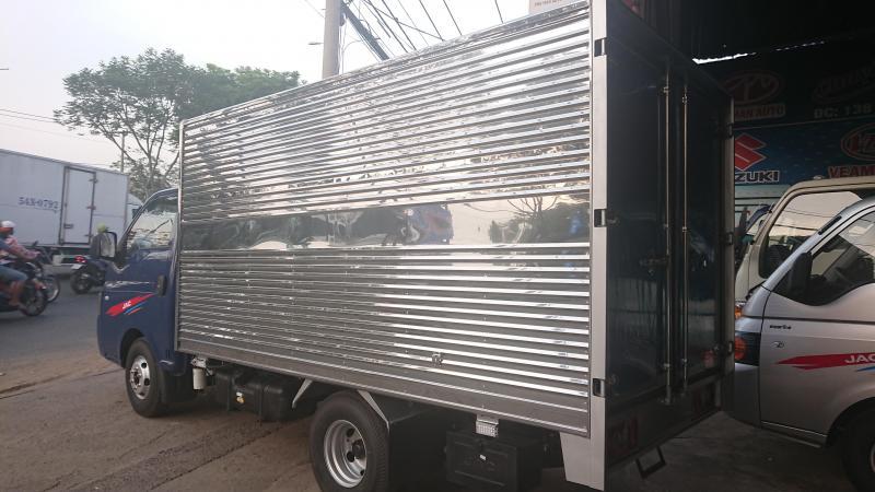 Bán xe tải JAC 1T25 máy ISUZU chạy khỏe tải trâu - giá tốt hỗ trợ vay cao
