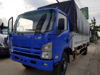 Xe tải Isuzu Vĩnh Phát 8.2 tấn thùng bạt, thùng kín mới