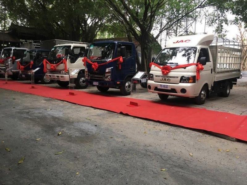 Xe tải JAC 1t25 đời 2019 máy ISUZU giá cạnh tranh