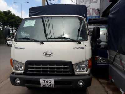 Bán xe tải Hyundai HD99  thùng bạt hỗ trợ trả góp 100%
