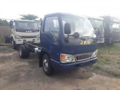 Xe tải Jac 2 tấn 4 thùng bạt giá cạnh tranh