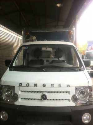 Xe tải DongBen 870kg thùng lửng - bạc - kín
