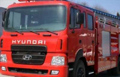 Bán lô 6 chiếc Xe Chữa cháy Hyundai HD170, 5 khối, 6 Tấn