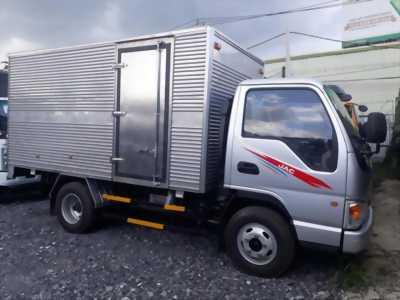 Xe tải jac 2T4 thùng dài 3m7, hỗ trợ trả góp toàn quốc