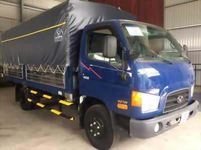 Xe tải 6t5 hyundai thùng mui bạt 5 bửng