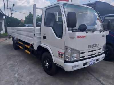 Xe tải thùng lửng Isuzu 1T9 THÙNG DÀI 6m2 tại Bình Phước.