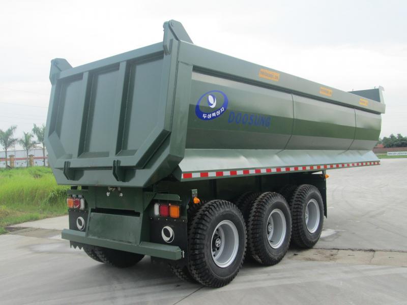 Mooc Ben Doosung, Tải 28.5 tấn, thùng 24 khối