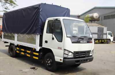 Bán xe tải isuzu thùng bạt vào tp đời 2018