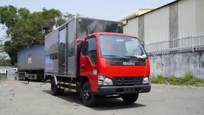 Xe tải 1t9 đời 2018 thùng kín isuzu