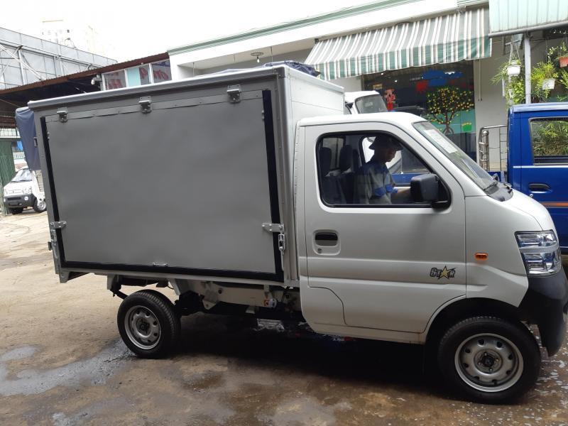 Xe tải nhẹ veam changan thùng kín thế hệ mới 2018