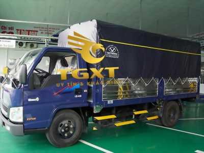 Tham khảo giá xe tải DoThanh IZ49 thùng bạt tại Bình Dương.