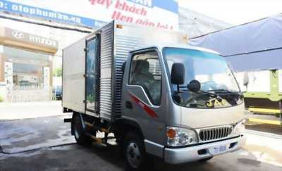 Xe tải sinh lời JAC 2T4 thùng dài 3m7 hỗ trợ trả góp