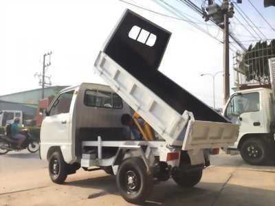 Xe ben suzuki carry truck ben tự đổ tại Bình Dương.