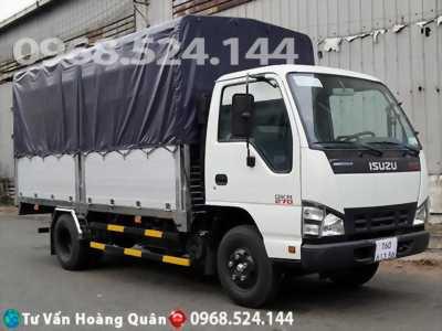Xe tải isuzu 2t3 thùng dài 4m3 năm 2018