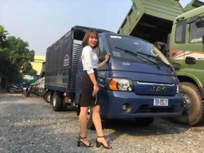 Xe tai jac/ xe tải jac/ hỗ trợ trả góp lãi suất thấp, thùng dài 3 mét 2.