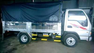 Xe tải JAC 2T4 nhập khẩu 3 cục, thùng bạt
