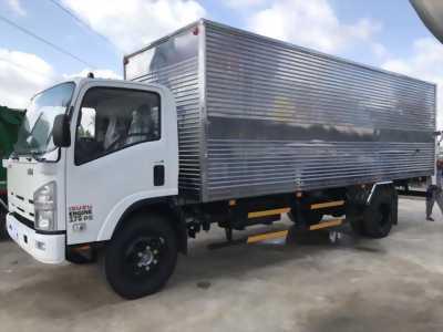 Bán xe tải Isuzu thùng kín dài 6m2 tải trọng 1T9 ở Long An